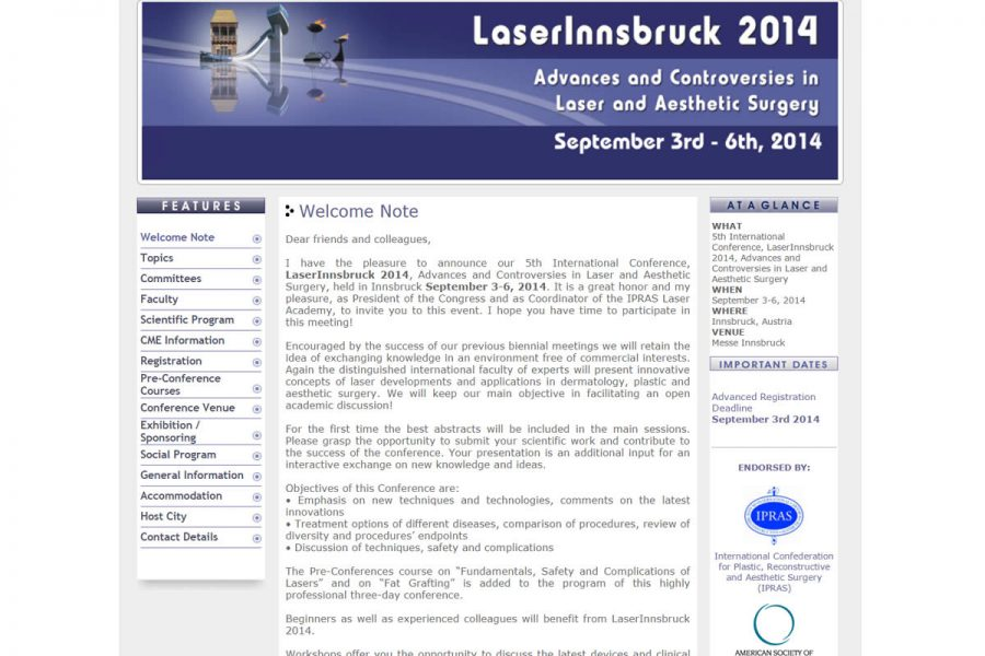 LaserInnsbruck Conference