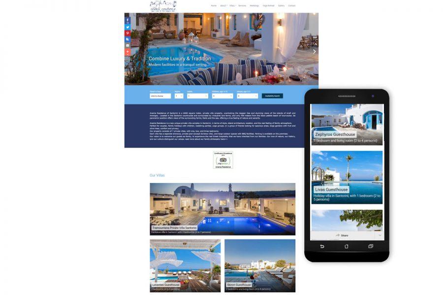 Anema Residence Santorini Villas