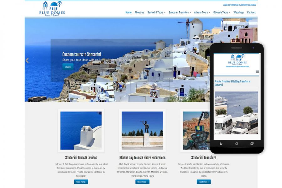 private tours & private transfers in Santorini