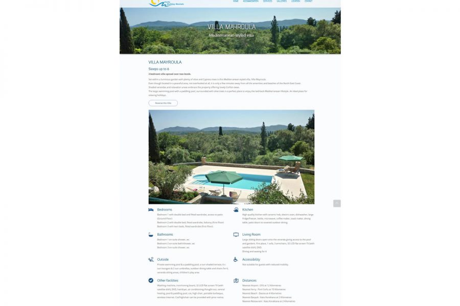 Corfu Holiday Rentals