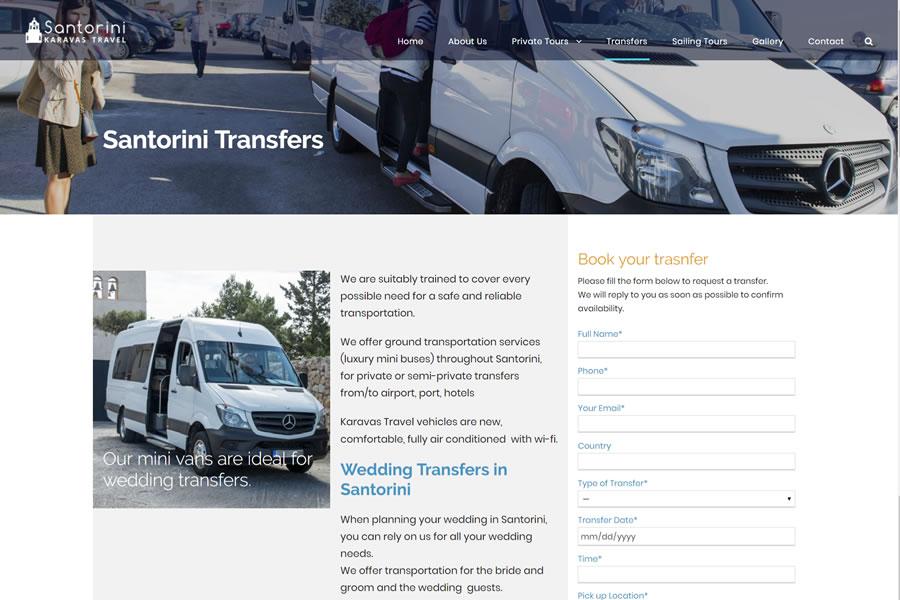 SANTORINI KARAVAS TRAVEL - Private Tours & transfers